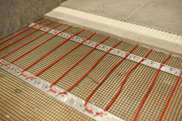 How Much Does Radiant Floor Heating Cost Angies List - Average cost to lay tile per square foot