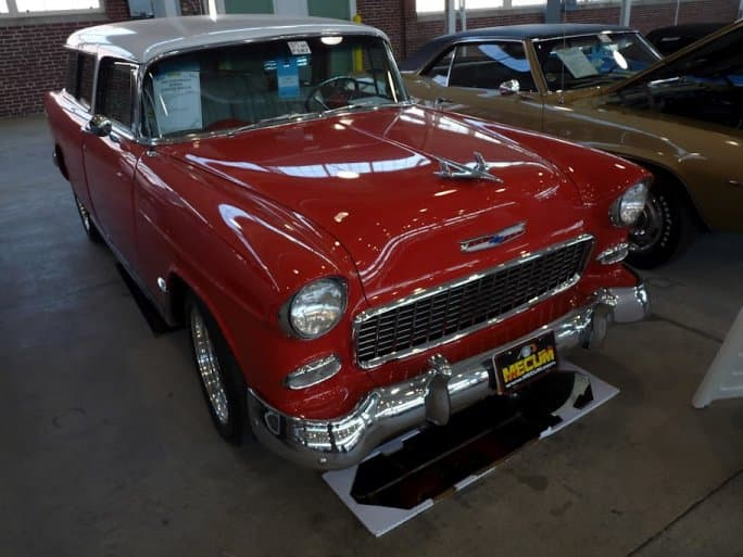 list of old chevy muscle cars