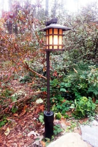 motion sensing outdoor light