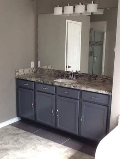 ceramic or stone tile vinyl and concrete are perfect flooring options for bathrooms kitchens basements and other rooms where water is present