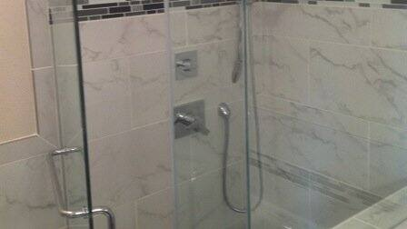 JBL Glass Paid Great Attention To Detail When Installing A Shower Enclosure  For Richard Burgess.