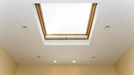 skylight in ceiling