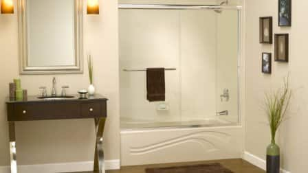 5 questions for choosing an acrylic bathtub surround for How to install acrylic bathtub liners