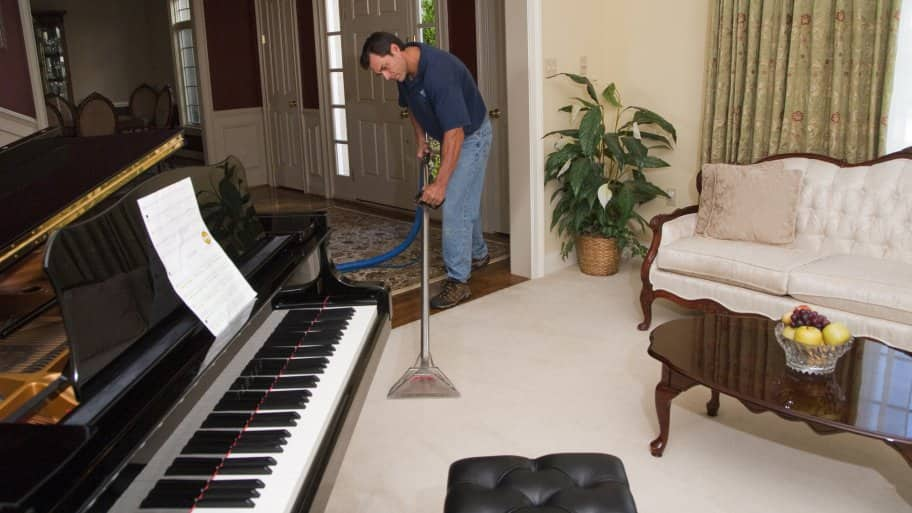 when your carpet needs a deep cleaning consider renting a carpet steam cleaner