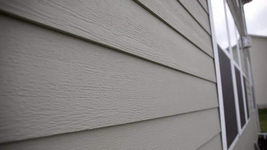 Vinyl And Aluminum Siding House With