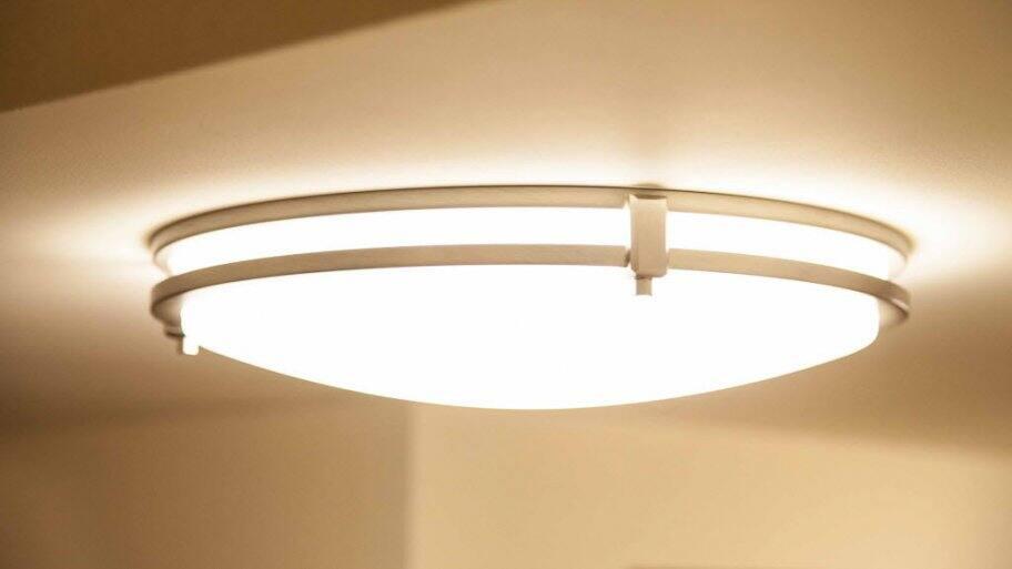 a decorative house light