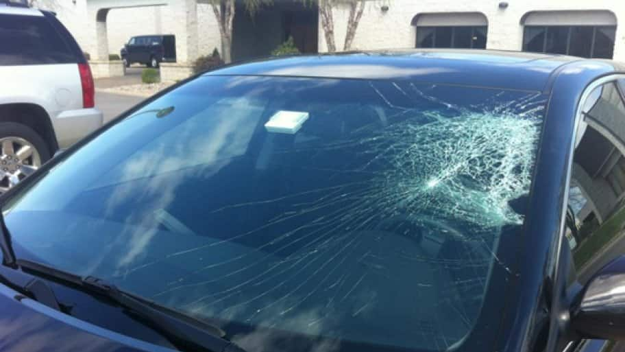 By hindering driver vision, significant windshield damage poses an immediate safety risk. (Photo courtesy of Agnie's List member Stephanie B.)