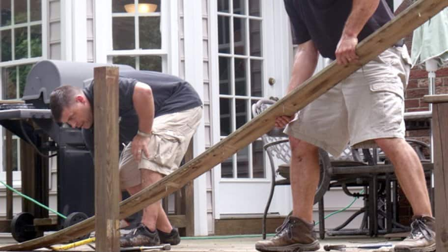 How to build a deck in 10 steps angie 39 s list for Be your own contractor for building a house