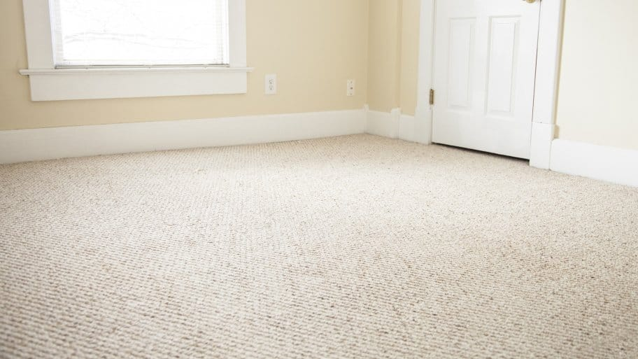 empty room with clean, beige carpet