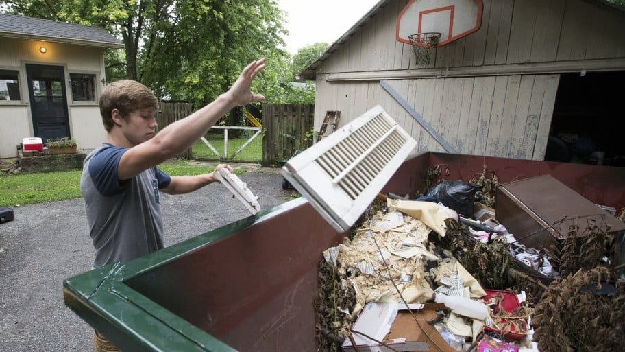 Dumpster Rental Vs Junk Removal Pros And Cons Angie S List
