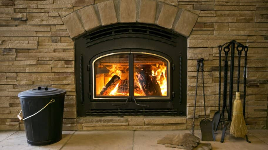 Whether a wood-burning fireplace or an ethanol one