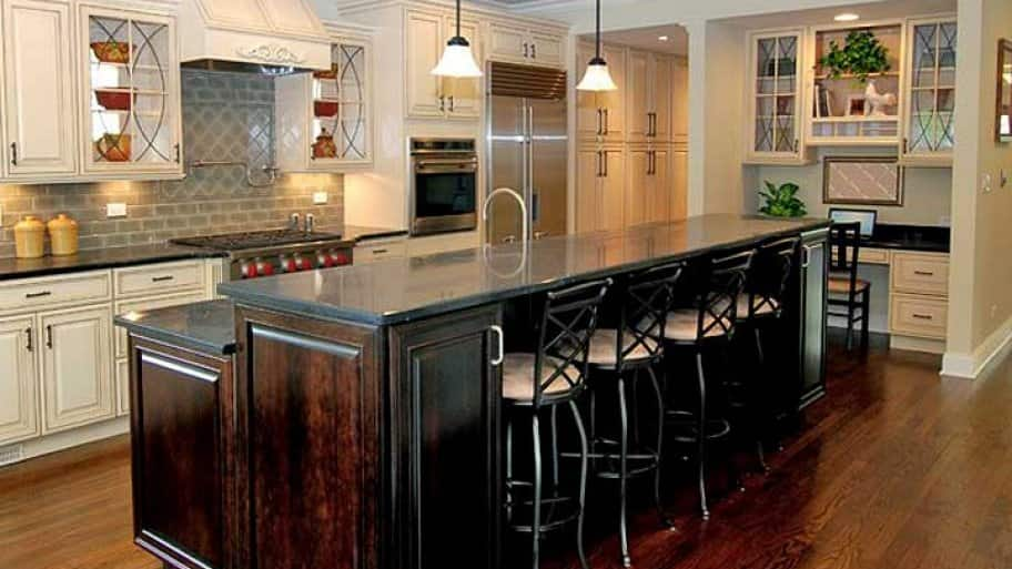 kitchen remodel with island