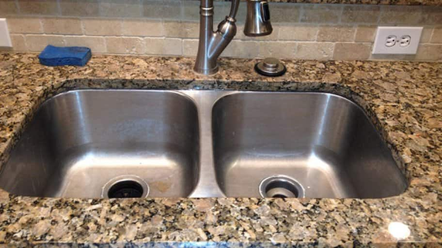 Water In Kitchen Sink Drains Slowly