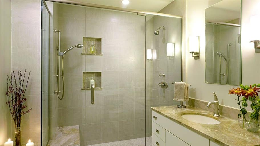 Bathroom remodeling planning and hiring angie 39 s list for Bathroom remodel pics