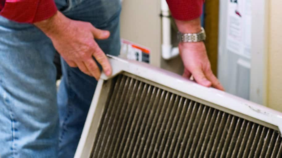 Changing or cleaning your filters during a remodel can help with your home's airflow.