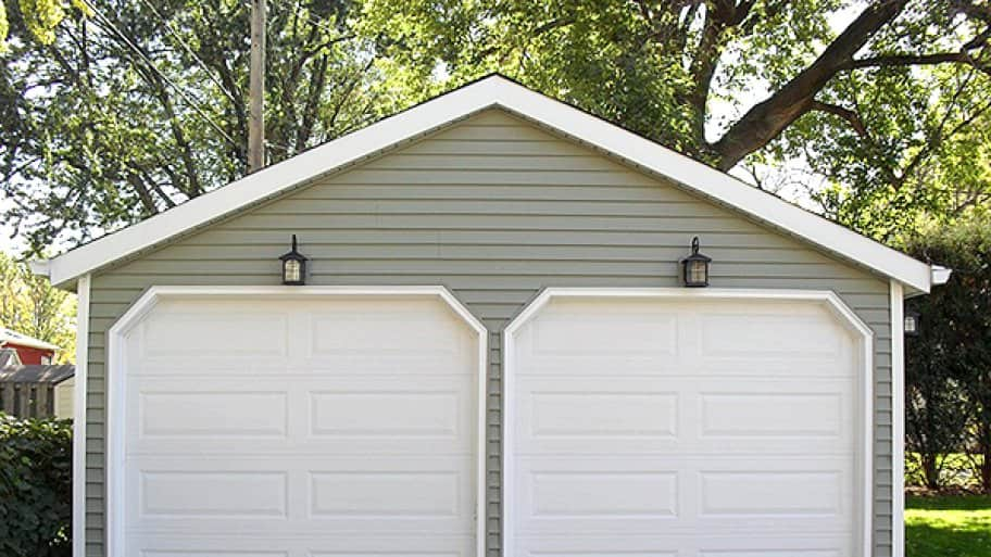 Wonderful Two Door Garage #2: A Regular Tuneup And Inspection Can Keep Your Garage Door Functioning  Properly, Which May Help You Avoid Injuries And Potential Damage.