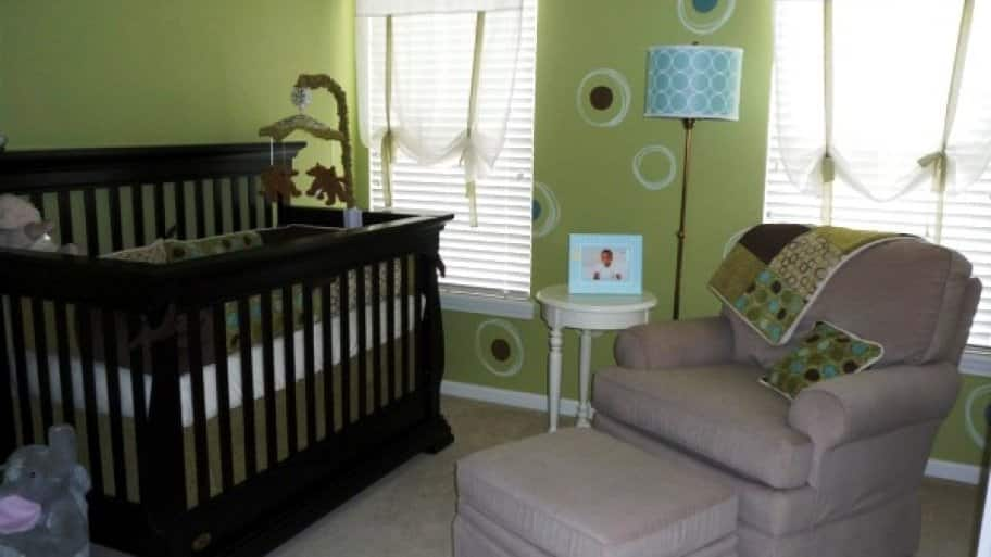 Take time early in your pregnancy to ready the nursery in plenty of time for your baby's arrival. (Photo courtesy of Angie's List member Jennifer O. of North Ridgeville, Ohio)