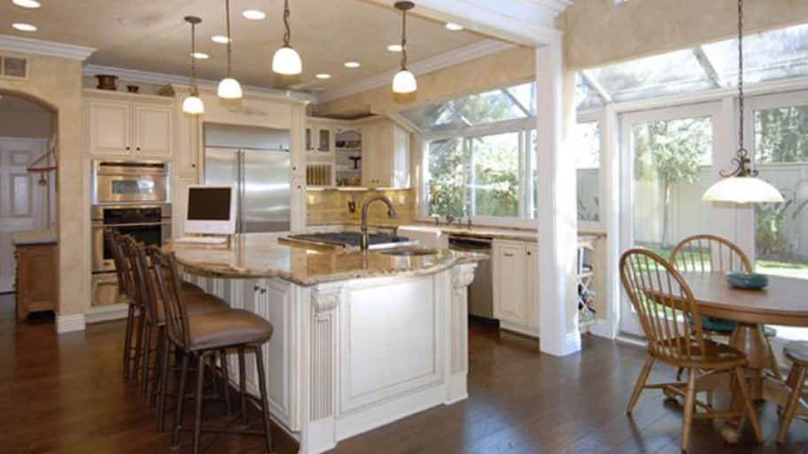"Angie's List member Andrew E. of Aliso Viejo, Calif, loves the way his kitchen remodel turned out. ""This was not a simple remodel,"" he says. ""We wanted not only a new kitchen but a complete reconfiguration including removal of walls."""