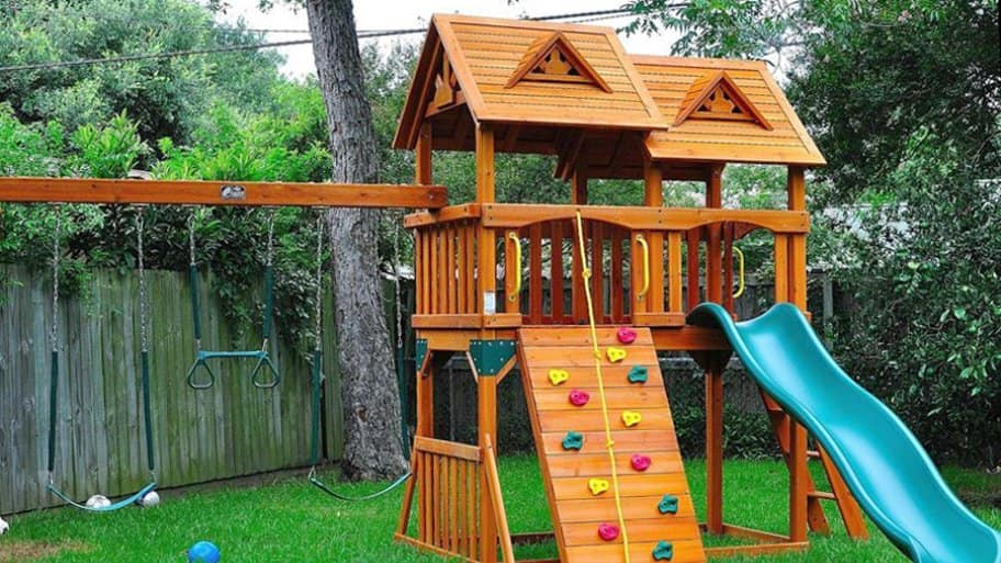 backyard playground - Playground Equipment Angie's List