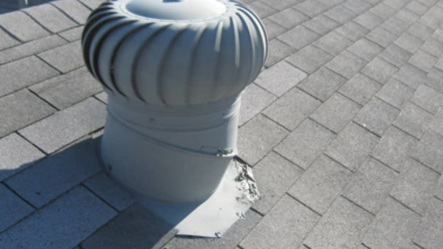 Rooftop Wind Turbines Ventilator : Which is better for attic ventilation ridge vent or