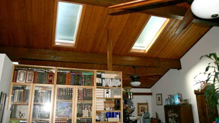 Skylights can help add natural light to darker rooms. (Photo courtesy of Angie's List member Harold G.)
