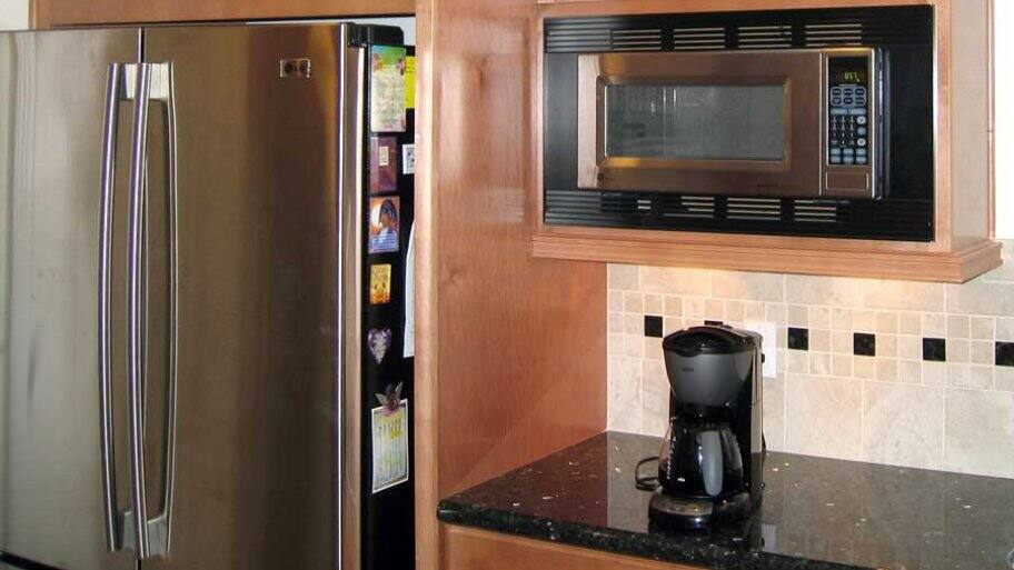 Small Appliances Microwave And Coffee Maker