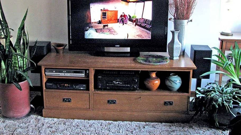 There are many different styles of TVs to fit your space and needs. Should your TV malfunction, a highly rated pro can help determine whether it's best to repair or replace. (Photo courtesy of Heidi H.)