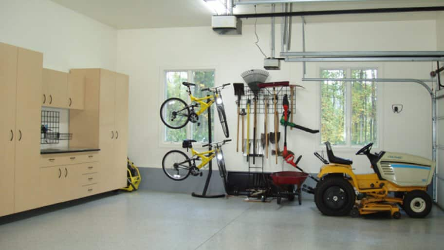 garage remodeling project