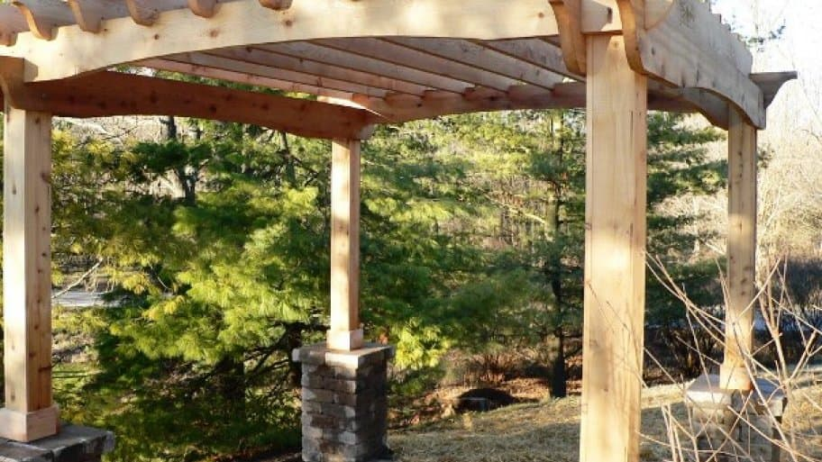 Dress Up Your Deck Or Patio With A Pergola