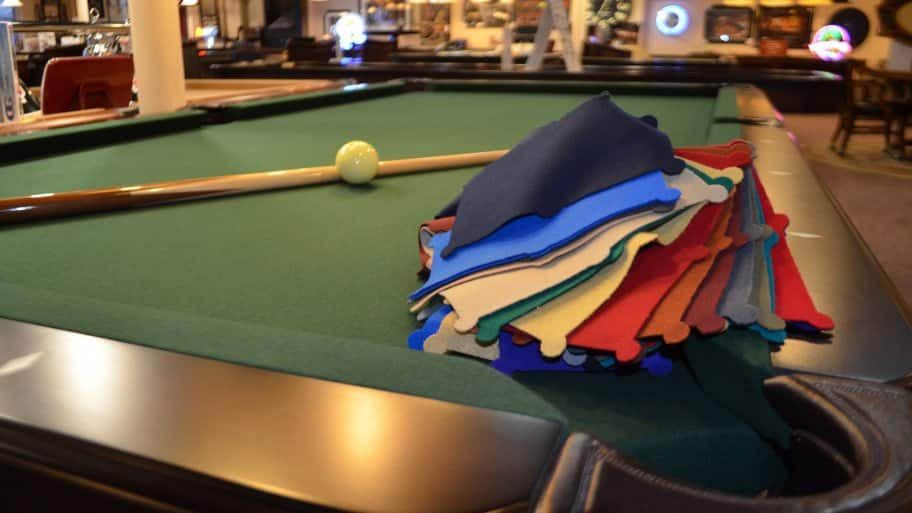 Replacing Pool Table Felt Youve Got Options Angies List - Average cost to refelt a pool table