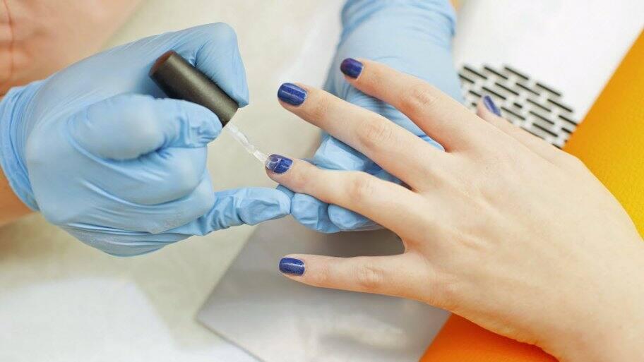 uv lamp normal nail polish