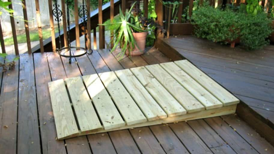 Superb How Much Does It Cost To Make My Home Handicap Accessible?  Small_handicap_accessible_ramp