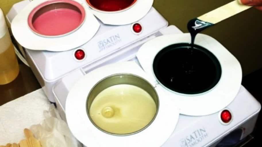 trays of body wax