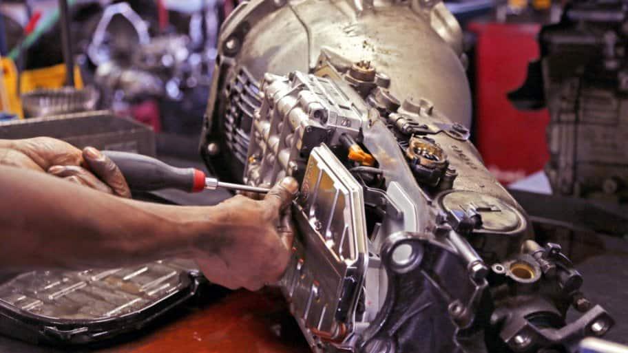 Repairing a transmission