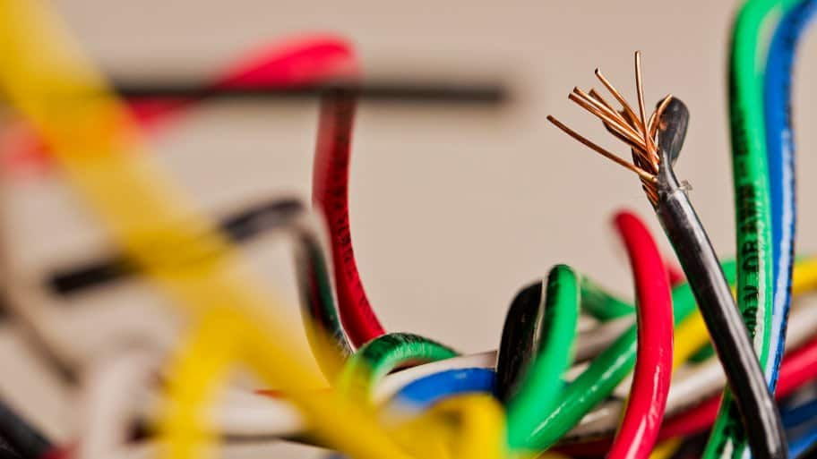 what do electrical wire color codes mean? angie's list  jumble of colored electrical wires